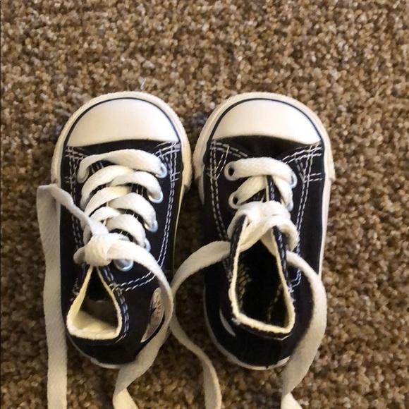 3a1e1a98b9c9de Converse Shoes - New baby converse high tops size 2 infant